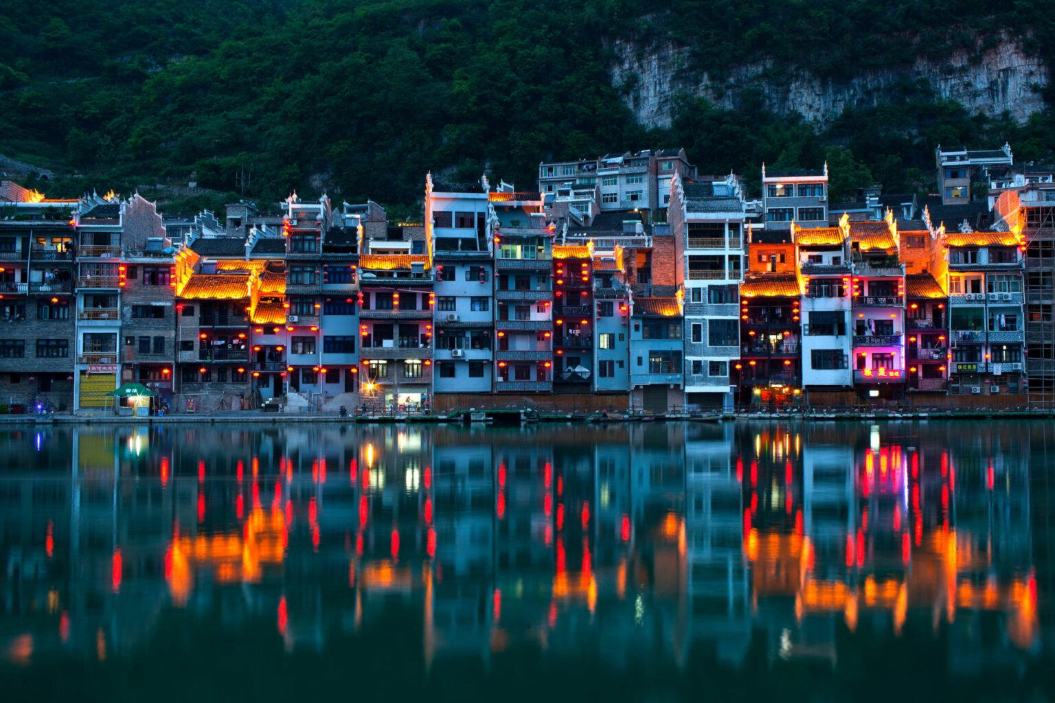 lake Zhenyuan
